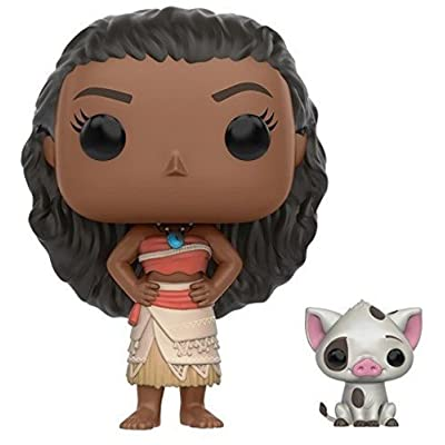Funko POP Disney: Moana - Moana & Pua Action Figure: Funko Pop! Disney:: Toys & Games [5Bkhe2005668]