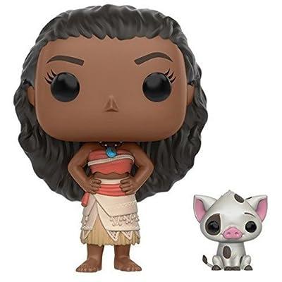 Funko POP Disney: Moana - Moana & Pua Action Figure: Funko Pop! Disney:: Toys & Games