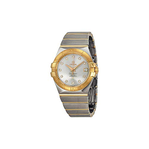 - Omega Constellation Chronometer 35mm Automatic Silver Dial Unisex Watch 12320352