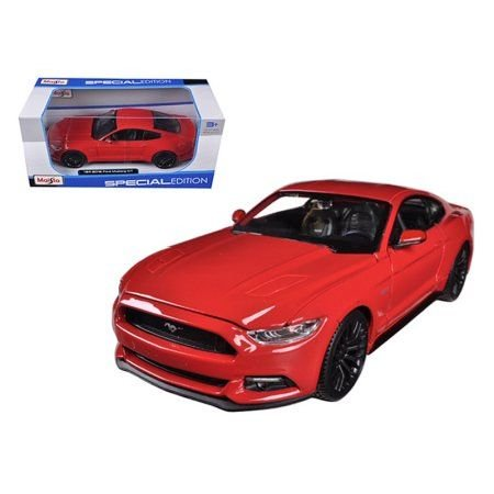 Maisto 2015 Ford Mustang GT 5.0 Red 1/24 Car Model by Maisto