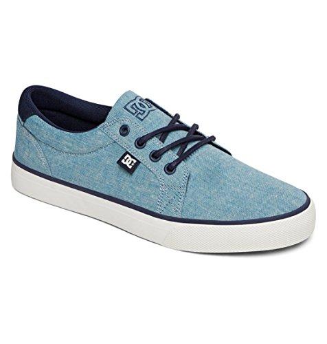 DC Men's Council TX SE Skate Shoe,Blue/Blue/White,12 M US