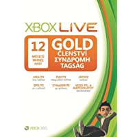 Xbox LIVE Gold 12-Month Membership Card (EE Version)