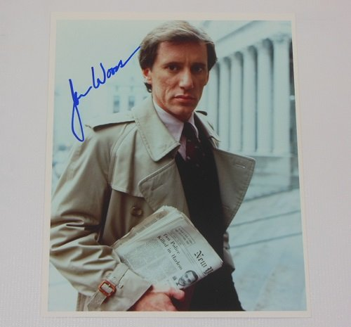 James Woods Salvador Hand Signed Autographed 8x10 Glossy Photo (Salvador Blu Ray)