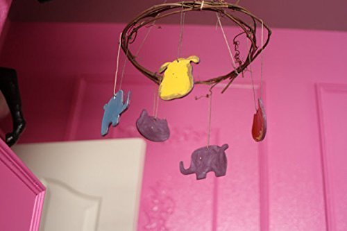 Animal Mobile handmade children's room decor by Manuela Marino Ceramic (Image #3)