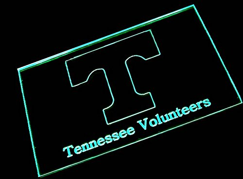 (NCAA Tennessee with (16 kinds of Colors flashing mode+remote control) Neon Light Sign)