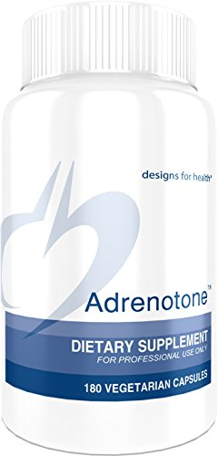Designs for Health - Adrenotone - 180 Capsules, Adrenal Support Formula