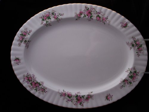 (Royal Albert Lavender Rose Oval Platter)