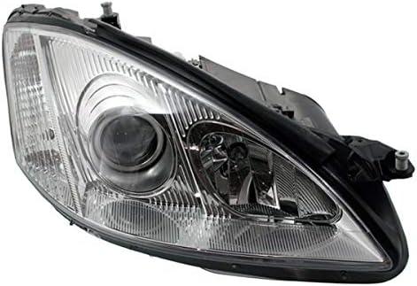 Mercedes Sprinter 2013-/> Black Front Headlight Headlamp O//S Drivers Right