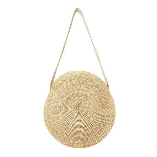 Beach Mano Cesto Spiaggia Spalla Feiledi Commercio Con Di Intrecciato Donna Tradizionale Comprare Manico Estate Bag Sacchetto Lungo xUwwzaY