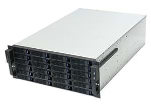 NORCO 4U Rack Mount 24 x Hot-Swappable SATA/SAS 6G Drive Bays Server Rack mount RPC-4224