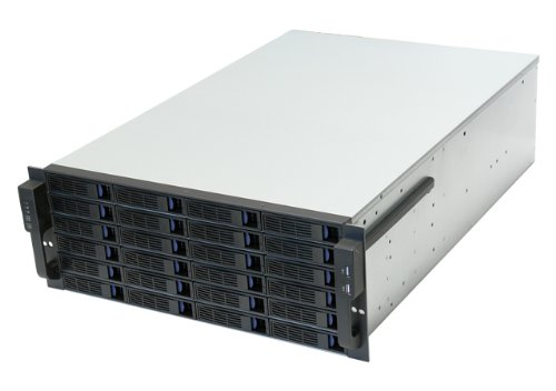 NORCO 4U Rack Mount 24 x Hot-Swappable SATA/SAS 6G Drive Bays Server Rack mount RPC-4224