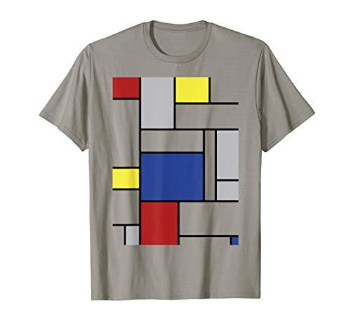 Modern Art Composition II and C Style T Shirt, Original Art