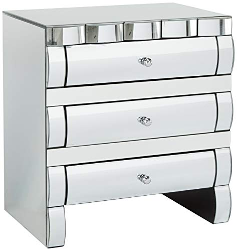 Great Deal Furniture 295465 Cabinet, Clear