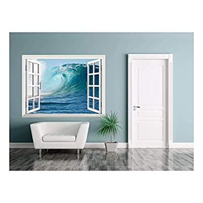 Removable Wall Sticker Wall Mural A Big Wave...