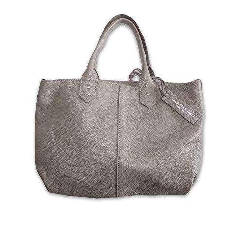 - American Eagle AEO Wander Leather Slouchy Satchel AE Ecru/Taupe Purse Bag
