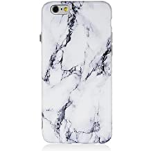 iPhone 6 Plus Case,iPhone 6s Plus Case,Marble iPhone 6 Plus Case Black and White,DICHEER Soft Case for iPhone 6 Plus,Anti-scratch Soft Case Cover,IMD TPU Case for iPhone 6/6s Plus 5.5'' only - 20