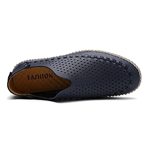 3e273f6a1a61e7 UPWalker Men s Breathable Driving Loafers Comfort Slip On Flat Shoes chic