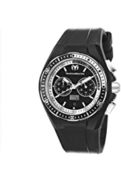 TechnoMarine Men's 110015 Cruise Sport Chronograph Black and White Dial Watch
