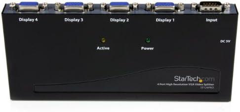 300 MHz- VGA Splitter ST124PRO StarTech.com 4-Port VGA Video Splitter 2048x1536 @ 80Hz 4 port