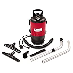 SANITAIRE 457 SC412 120 Cfm Backpack Vacuum Cleaner With 50\' Power Cord, 11.5 Amp