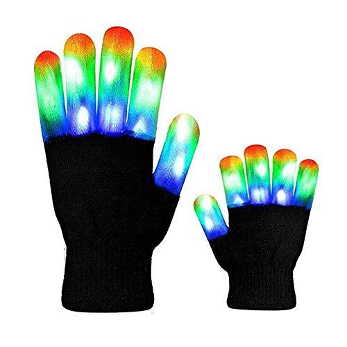 LED Finger Gloves