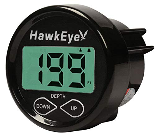 HawkEye D10DX.01T In-Dash Depth Sounder with Air...
