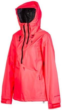 Volcom Chanterelle Pullover Jacket Women's Firecracker, XS