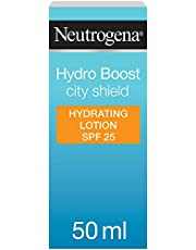 Neutrogena Face Moisturizer, Hydro Boost, City Shield, SPF 25, 50ml