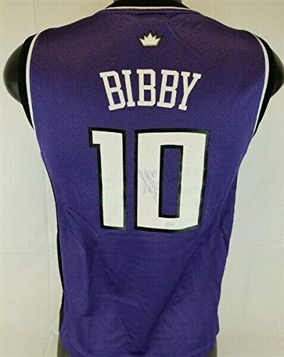 4d2b23d0 Mike Bibby Autographed Signed Memorabilia Sacramento Kings Reebok Nba Jersey  JSA #2 Overall Pick 1998 at Amazon's Sports Collectibles Store