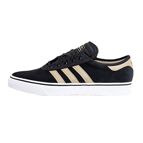 Adidas Adi-Ease Premiere–Scarpe da Skateboard, uomo, Nero, (Negbas/oronat/Ftwbla)