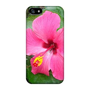 Premium Protection Hibiscus Pink Case Cover For Iphone 5/5s- Retail Packaging