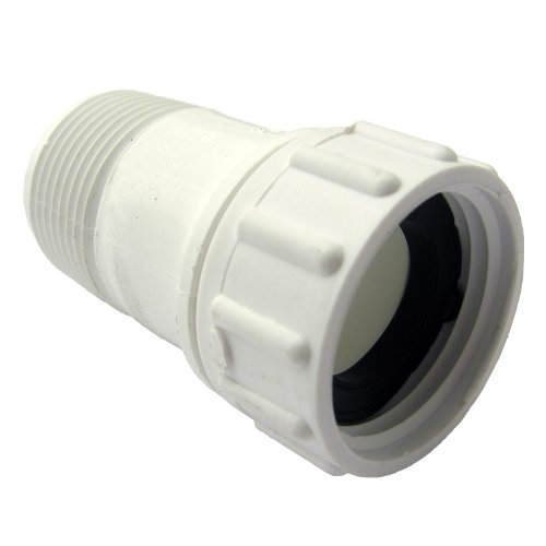 (LASCO 15-1627 PVC Swivel Hose Adapter with 3/4-Inch Female Hose and 3/4-Inch Male Pipe Thread )