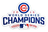"""FOCO MLB Chicago Cubs 2016 World Series Champions Magnet Sports Fan Home Decor, Blue, 6"""""""
