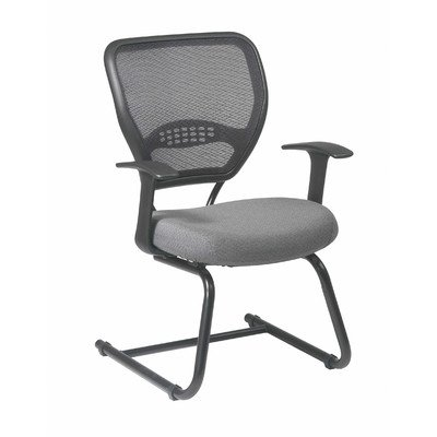 (Office Star 55-7V30-227 Grid Back Visitors Chair Guest )