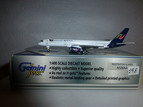 Gemini Jets GJNAT050 National Airlines Boeing 757-200 1:400 Scale