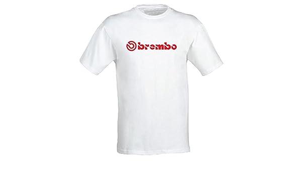 Brembo Camiseta Unisex Bicicleta, Motocicleta de Coche Racing Logo Frenos Moto GP-Free tamaño waehlbar a través de Amazon Correo electrónico después de la Compra con groessentabelle en Imagen 2: Amazon.es: Deportes y