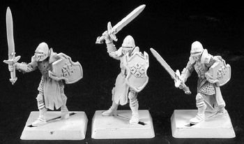 Reaper Templar Knight Crusader Grunts Miniature Army Pack 25mm Heroic Scale Warlord Miniatures