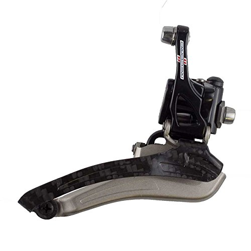 Record Front Derailleur (Campagnolo Record 11-speed Front Derailleur Braze-on S2 System - Black)