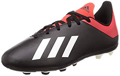Adidas X 18.4 Flexible Ground, Boys' Soccer Shoes, Black 11.5 UK (30 EU),Bb9378
