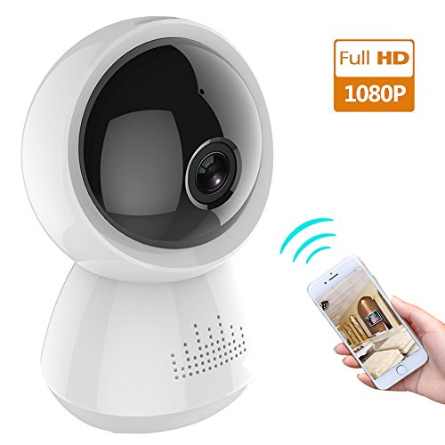 Besyoyo 1080P HD Wireless IP Camera,Home Security Wifi Camera with TWO-Way Audio/Night Vision, Baby Pet Video Monitor Camera with Micro SD Card Slot