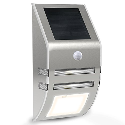 Outdoor Motion Sensor Light With Outlet in US - 1