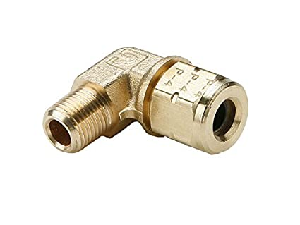 1//8 Compression Connector Brass Parker 68VL-2-2 Vibra Lok Compression Style Fitting Tube to Pipe