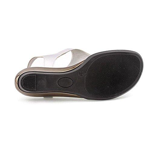 Callisto Wedge Women Sandals Silver Miranda UFUqYvwa7