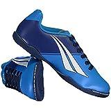 Chuteira Penalty Soccer Matis VII Futsal Azul Juvenil