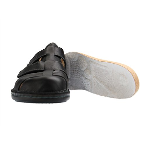 070099 Uomo nero 01034 Nero Finn Sneaker Comfort wx0q7Cf