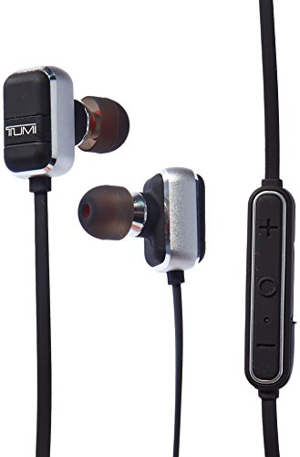 Tumi Wireless Earbuds, Black/Gunmetal by Tumi