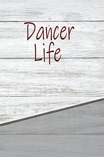Dancer Life: Personalized Rustic Isometric Dot Notebook 120 pages 6