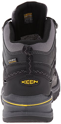 Keen Logan de senderismo señorías Mid negro 2015senderismo zapatos negro