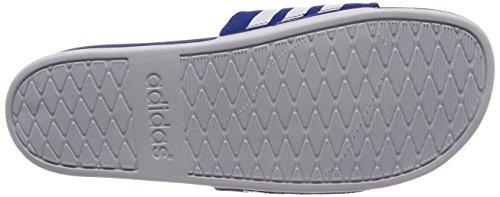 adidas Herren Adilette Cloudfoam Plus Stripes Badeschuhe Blau (Collegiate Royal/Footwear White/Collegiate Royal 0)
