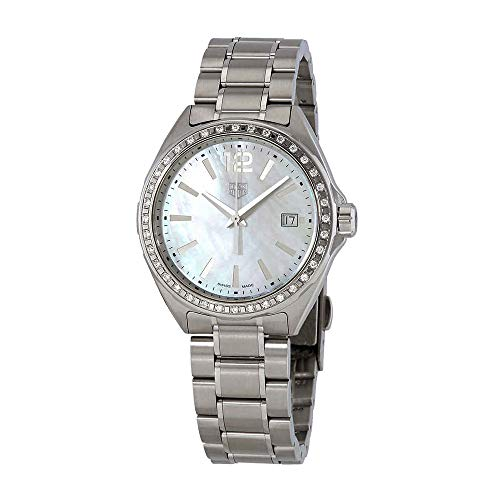 Tag Heuer Formula 1 Diamond White Mother of Pearl Dial Ladies Watch WBJ131A.BA0666